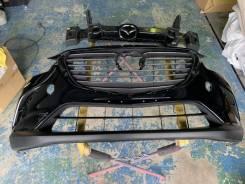 Передний бампер с решеткой Мазда CX-3 2015г