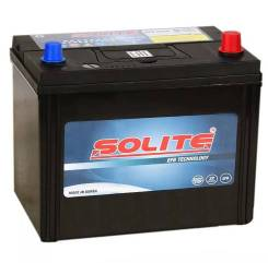 Solite. 80А.ч., Обратная (левое), производство Корея