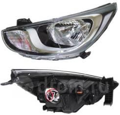 Фара Hyundai Solaris 10-14 L левая