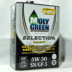 MolyGreen. 5w30, синтетическое, 4,00л.