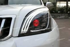 Фара. Toyota Land Cruiser Prado, GRJ120, GRJ120W, GRJ121W, GRJ125, KDJ120, KDJ120W, KDJ121W, KDJ125, KDJ125W, KZJ120, LJ120, RZJ120, RZJ120W, RZJ125...