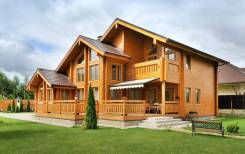 Строим красивые дома из бруса
