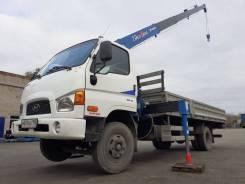 Hyundai HD78. Продам Hyundai HD 78 2011г. с манипул. Tadano Cargo 296, 3 900куб. см., 4 500кг., 4x2