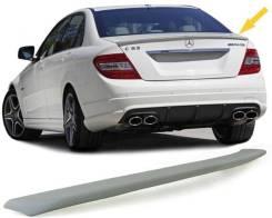Спойлер на крышку багажника Mercedes w204 AMG