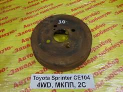 Барабан тормозной Toyota Sprinter Toyota Sprinter, правый задний