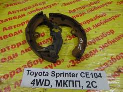 Колодки тормозные задние барабанные к-кт Toyota Sprinter Toyota Sprinter 1993.09, правый