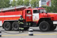 Пожарный. 21 пожарно-спасательный отряд. Проезд Гаражный 10а