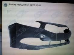 Бампер передний kia ceed 2012-15 окрашеные