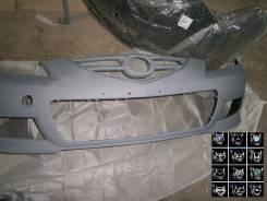 Бампер передний Mazda 3 седан спорт BS4P50031CBB 06-08