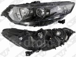 Фара Honda Accord 10-13 LH с электрокорректором под ксенон левая