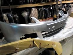 Бампер передний nissan almera g15 серебристый