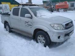 Toyota. Продам Грузовой-бортовой Hilux 2KD, 2 500куб. см., 4x4
