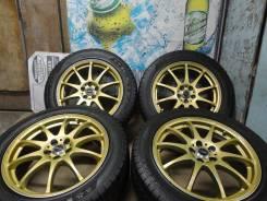 Продам Стильные Редкие колёса Cross X-Speed+Зим 215/55R17Toyota, Subaru