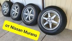 """235-65-18, спортяги с Nissan Murano, в наличии. 8.0x18"""" 5x114.30 ET35 ЦО 66,1мм."""