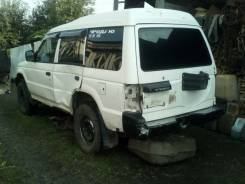 Продам бампер задний в сборе Mitsubishi Pajero 2
