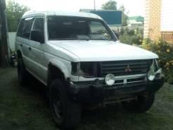 Продам бампер передний в сборе Mitsubishi Pajero 2