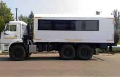 КамАЗ 43118 Сайгак. Автобус вахтовый специальный модель 42261, мест 28, 6х6 Камаз-43118, 28 мест, В кредит, лизинг