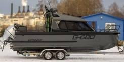 Grizzly Pro. 2019 год, длина 7,05м., двигатель подвесной, 300,00л.с., бензин. Под заказ