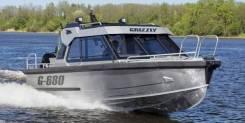 Grizzly. 2019 год, длина 7,05м., двигатель подвесной, 300,00л.с., бензин. Под заказ