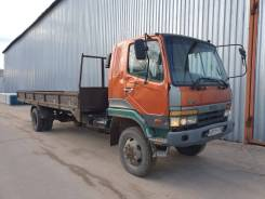Mitsubishi Fuso Fighter. Манипулятор-вездеход Фусо, 8 200 куб. см., 6 000 кг., 4x4