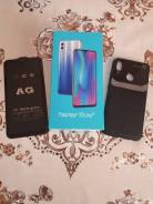 Honor 10 lite. Новый, 64 Гб, Синий, 4G LTE, Dual-SIM, NFC
