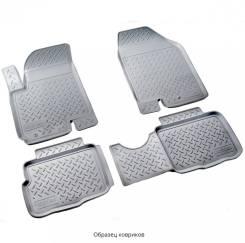 Коврики 3D в салон Norplast полиуретан серые для Citroen C4 Grand Picasso № NPA10-C14-170-G