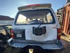 Бампер задний Mitsubishi Pajero V26