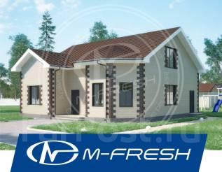 M-fresh Organic Teploblok (Доработанный проект дома из теплоблоков). 200-300 кв. м., 1 этаж, 7 комнат, бетон