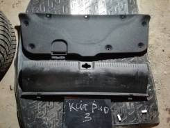 Обшивка багажника багажника киа рио 3