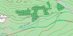 Продаю участок 10 соток район Черной речки во Владивостоке. 1 000кв.м., собственность. План (чертёж, схема) участка