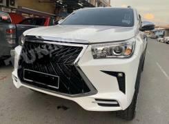 Передний бампер TRD Toyota Hilux Pick up 2015+ Стиль Lexus LX