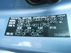 Двигатель в сборе 1NZ-FE, Toyota Corolla Fielder 2008, NZE144, 4WD