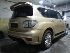 Губа. Nissan Patrol, Y62 VK56VD