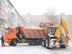 Вывоз, чистка, уборка снега! Спецтехника, бригада рабочих.
