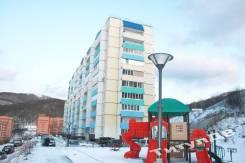 3-комнатная, улица Адмирала Смирнова 16. Снеговая падь, проверенное агентство, 68,3кв.м. Дом снаружи