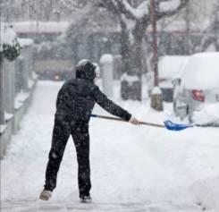 Уборка вывоз снега мусора в Уссурийске грузчики грузовик