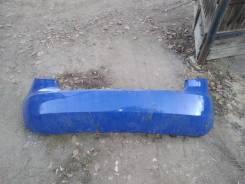Бампер задний Skoda Fabia 1.2 2008год б/у