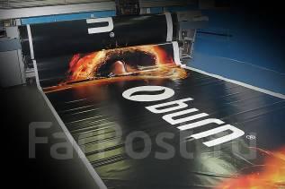Качественная широкоформатная печать на баннере красками ЭКОсольвент