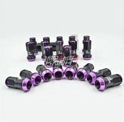 Гайки колесные кованые Max Guard Racing 20шт М12*1.5 фиолетовые