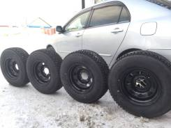 Комплект зимних колёс на внедорожник