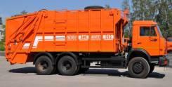 Рарз МК-4449. Мусоровоз с задней загрузкой МК-4548 на шасси Камаз 6520 без портала, 11 762куб. см. Под заказ