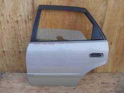 Дверь боковая задняя контрактная L Toyota Sprinter EE111 9756
