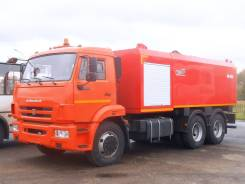 Коммаш КО-560. Комбинированная каналопромывочная машина КО-560 на шасси Камаз 65115, 11 762куб. см.