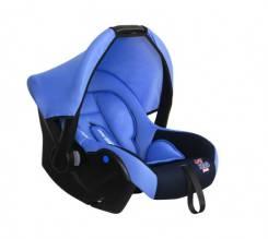 """Детское автокресло """"SIGER Luna"""" KRES2561 синий сапфир, 0-1,5 лет, 0-13 кг, группа 0+"""