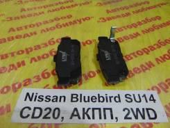 Колодки тормозные задние дисковые к-кт Nissan Bluebird SU14 Nissan Bluebird SU14