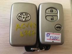 Ключ зажигания, смарт-ключ. Toyota Camry, ACV40