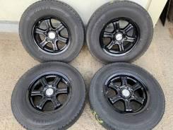 195/80R15 95% зима на чёрном литье Toyota Hiace 200-229 как новые