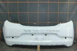 Бампер задний (хэтчбек) для Hyundai Solaris