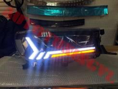 Фары LED тюнинг на Toyota Hilux Pick up 2015+