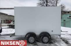 """Прицеп - фургон изотермический """"NikSen"""". Г/п: 750кг., масса: 750кг."""